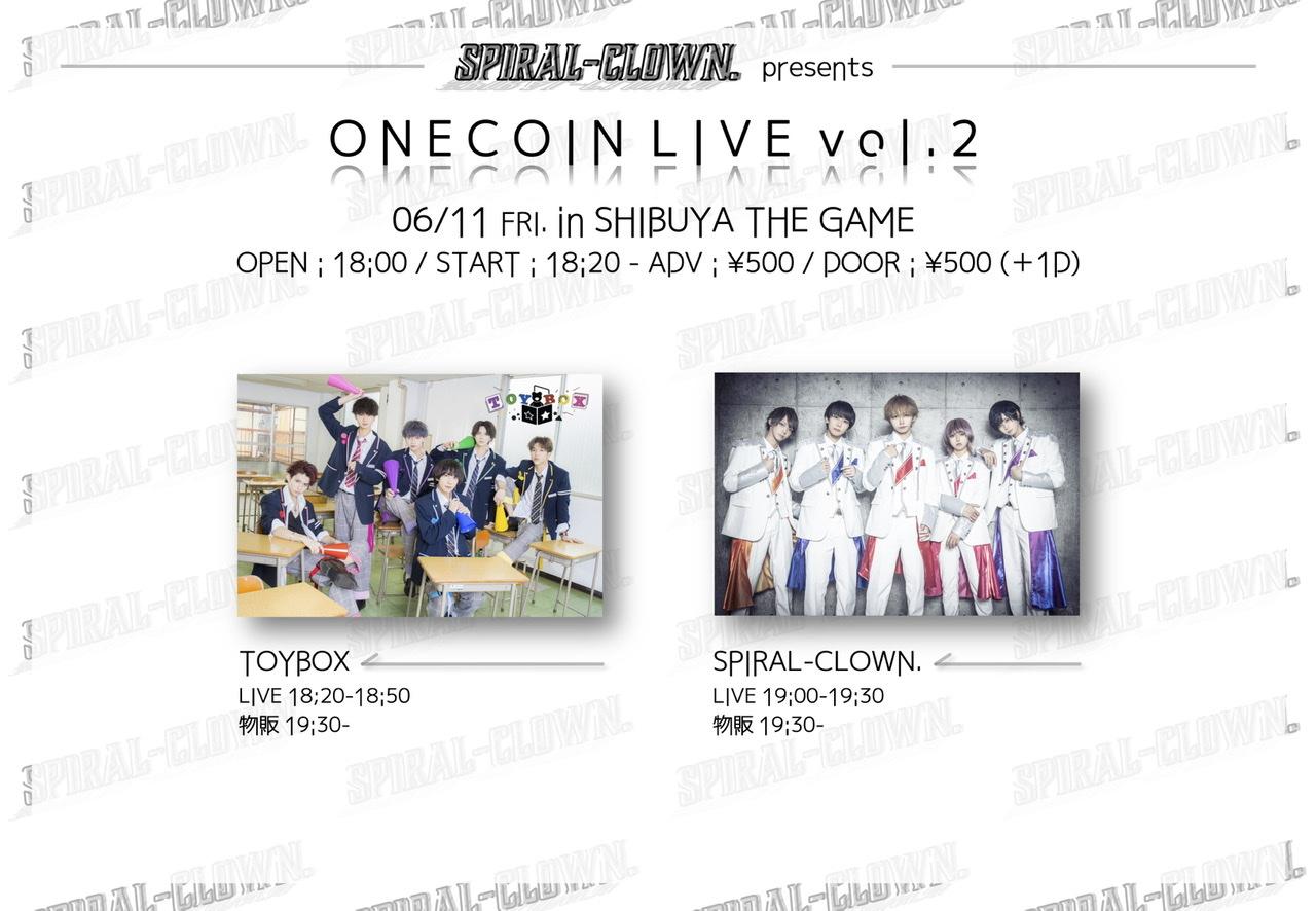 SPIRAL-CLOWN. presents ONECOIN LIVE vol.2