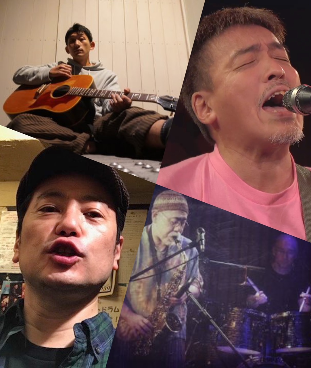 『スピード 〜肉体か魂か!?〜』出演:たけぽん / O-ju Jazz Punx / 浅戸梁
