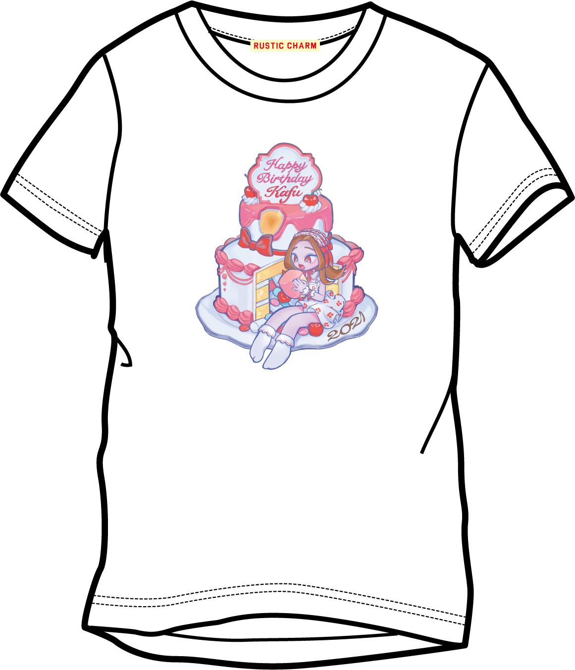 桜子カフ生誕Tシャツ