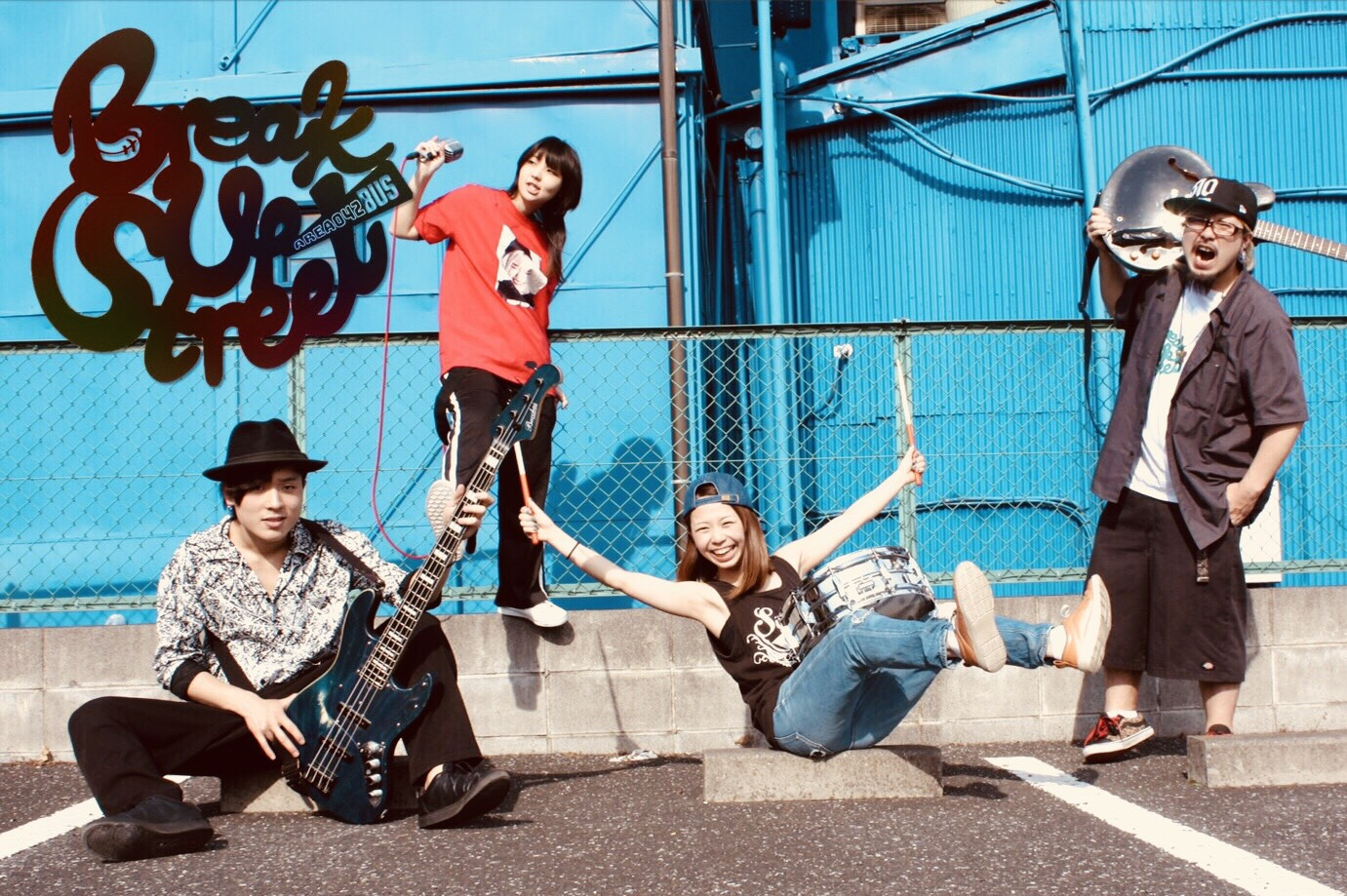 Break Up Street 1st e.p 『Vroooom!!』release tour 〜'30発'01行 ぶーんバスツアー〜