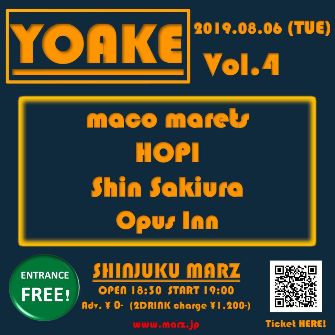 YOAKE vol.4