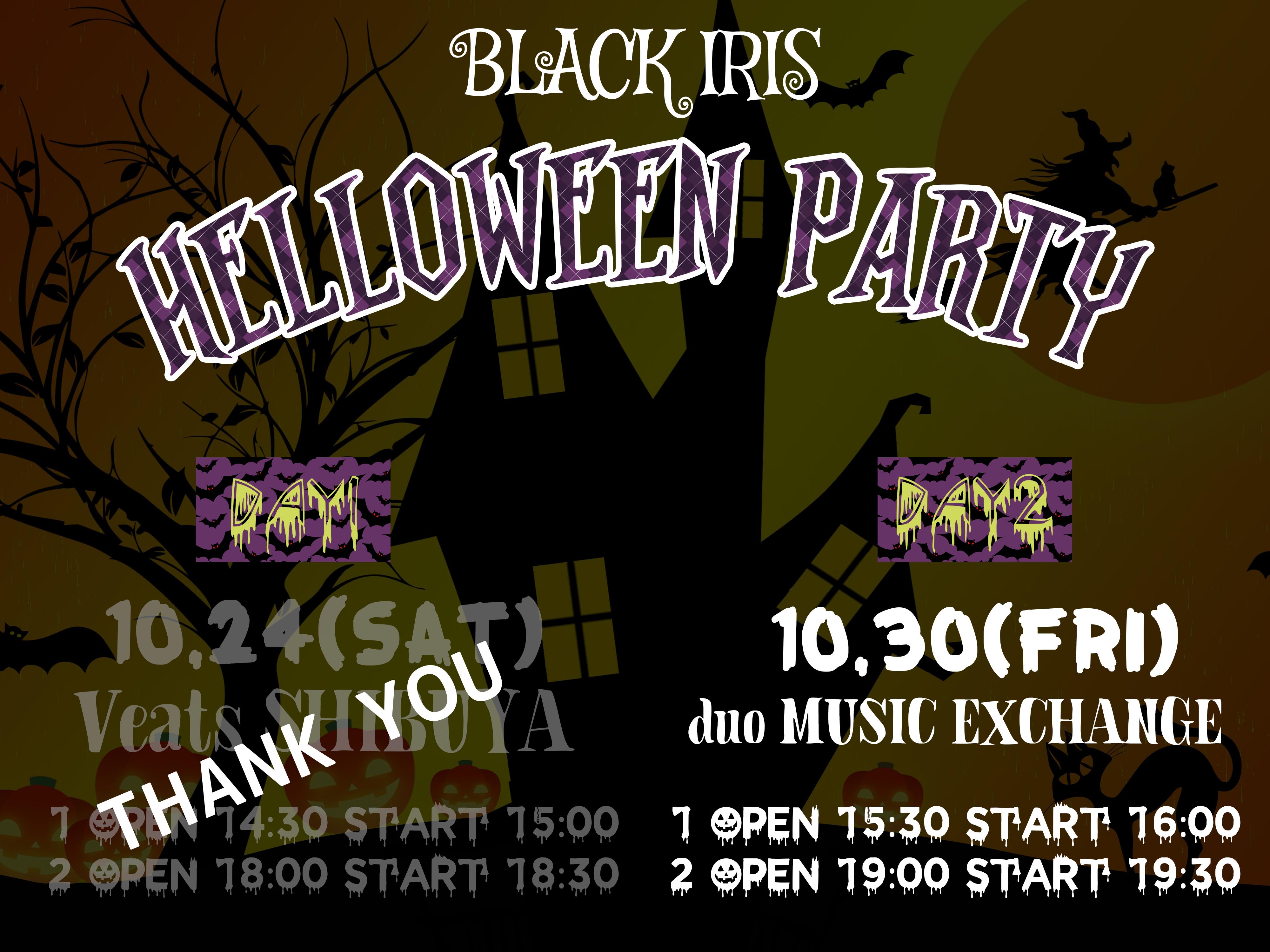 BLACK IRIS HELLOWEEN PARTY day2