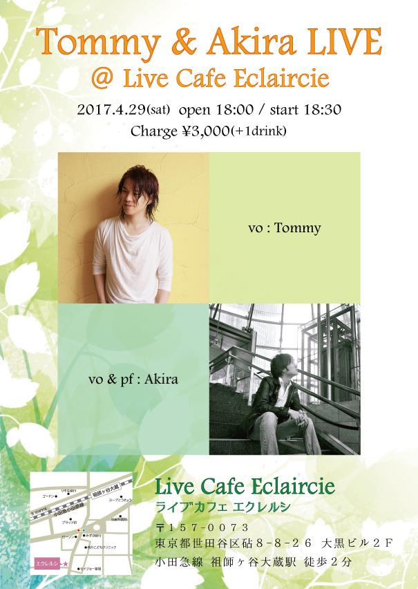 Tommy & Akira LIVE