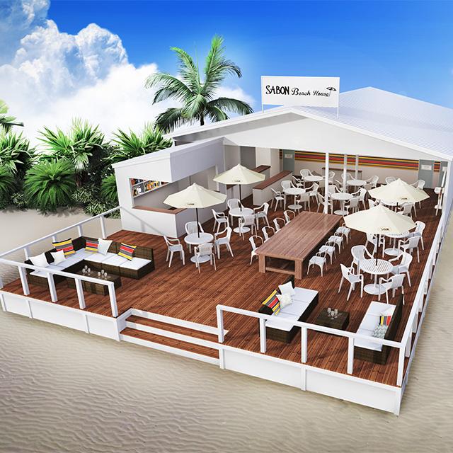 SABON Beach House 2017 ビーチイベント