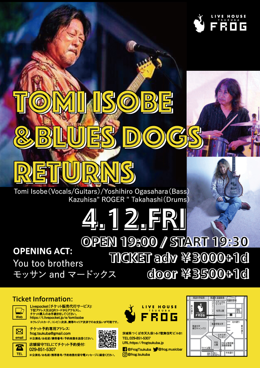 Tomi Isobe & Blues Dogs Returns
