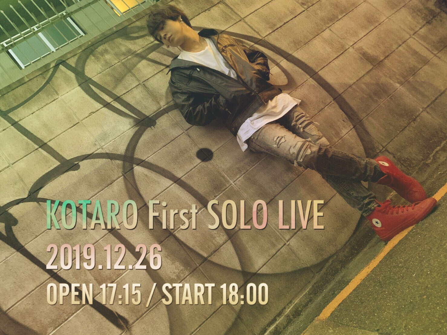 Kotaro First Live -One day late Christmas-