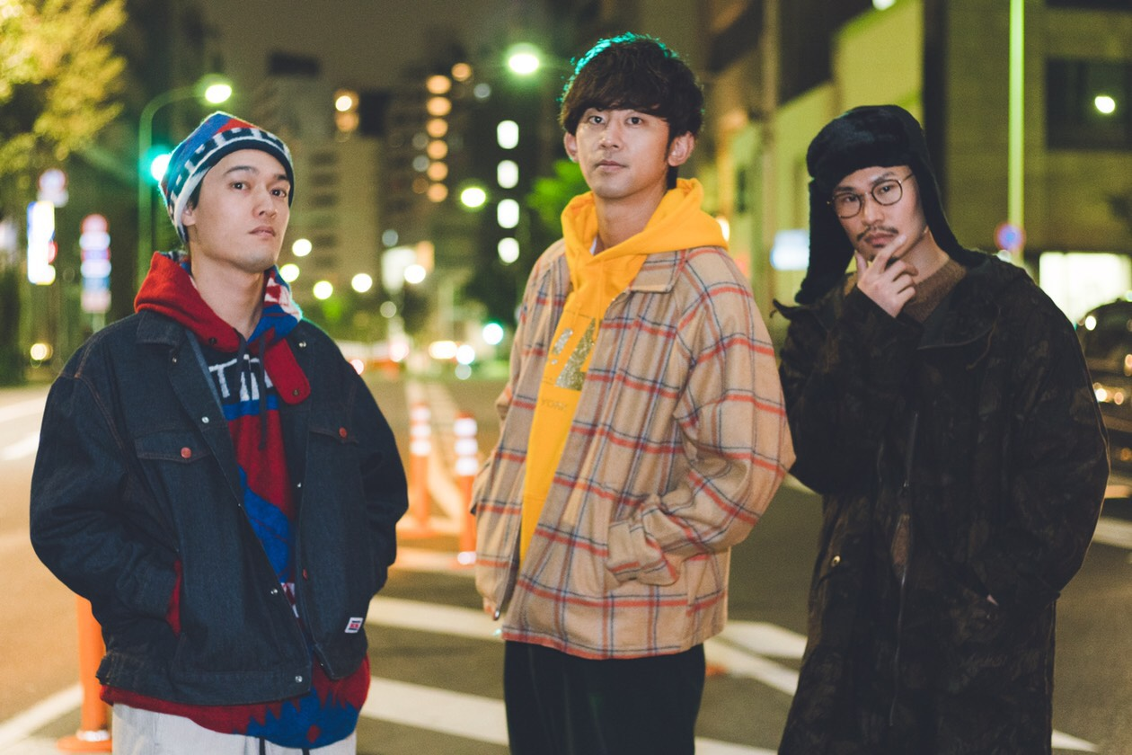 "THREE1989 ""KISS"" RELEASE ONE-MAN LIVE in HAKODATE @函館 South Cedar DRIVE INN"