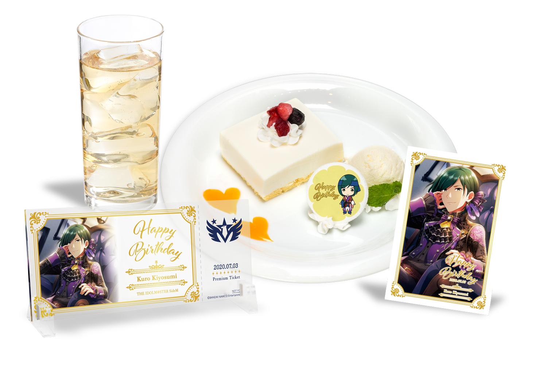【7/22清澄 九郎 バースデープラン AKIHABAR本店】アイドルマスター SideM 5th Anniversary CAFE