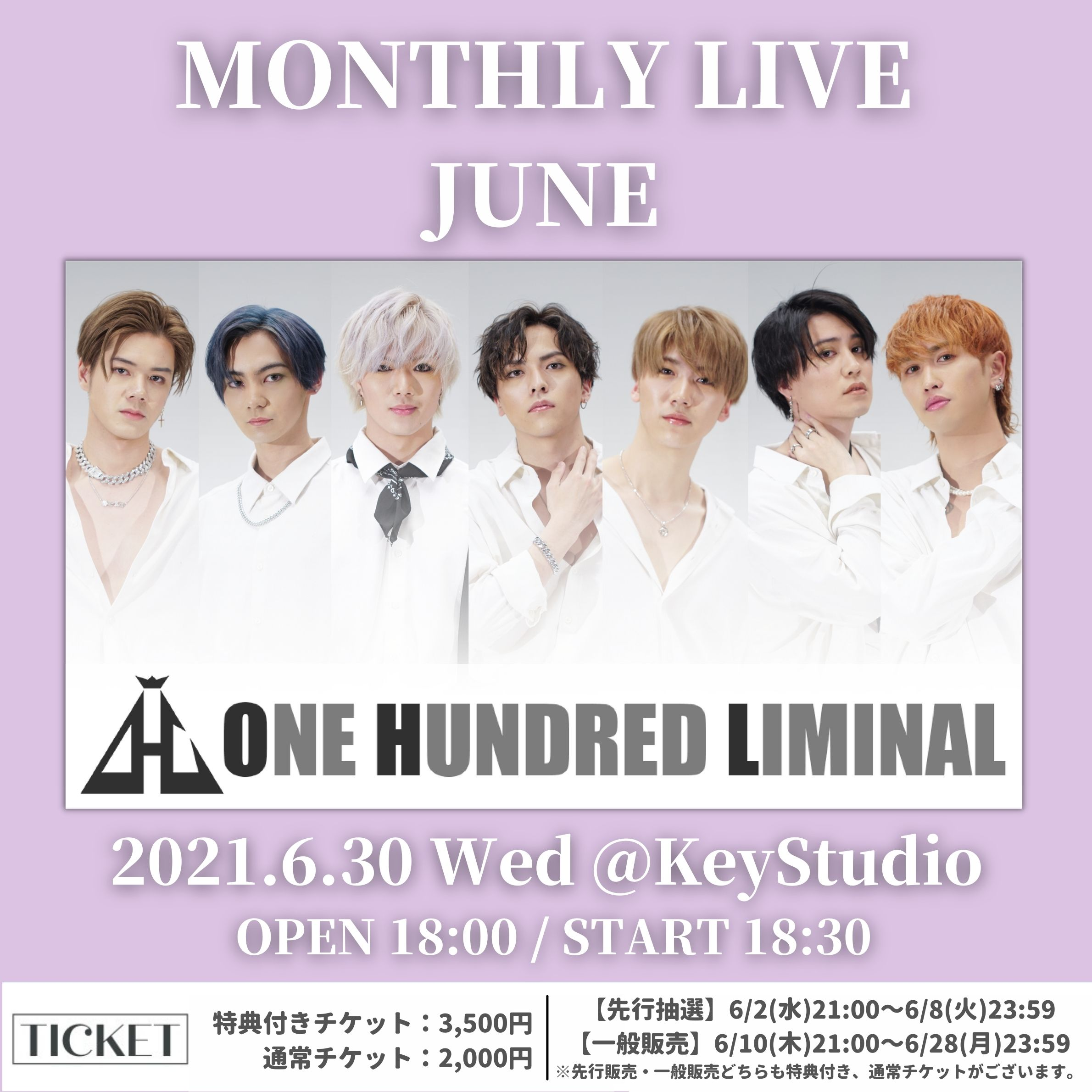 Monthly Live JUNE