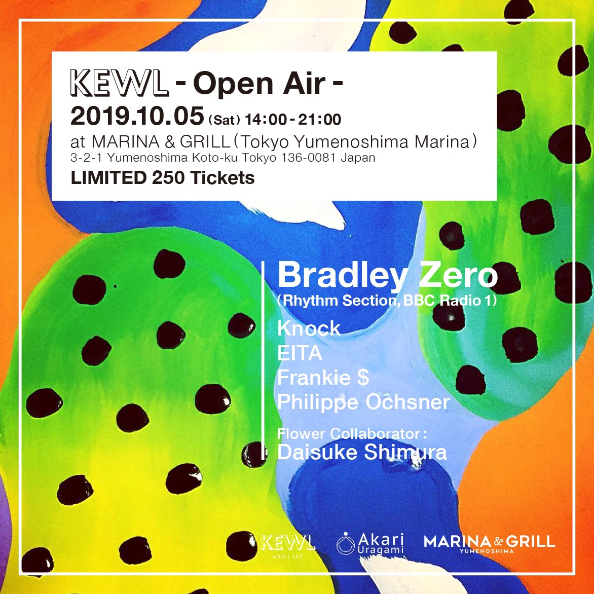 KEWL -Open Air- with Bradley Zero