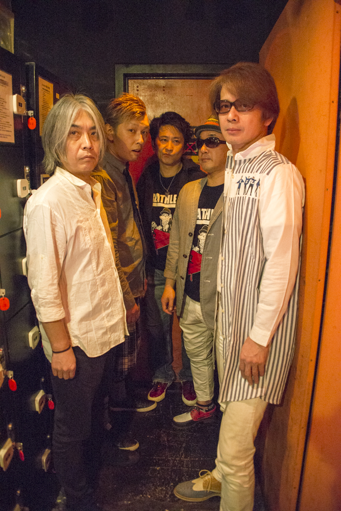 MAGUMI AND THE BREATHLESS/ダイナマイト☆ナオキ/メカエルビス&フジヤマパニック  <Guest> Tetsu Stanley(from KISS face!): 「ファンタスティック☆サーカス」