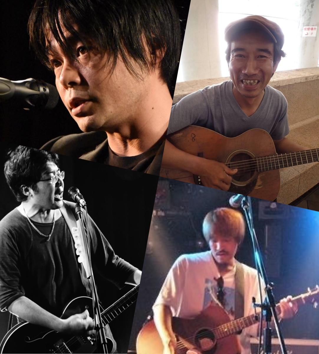 『SUMMERTIME BLUES』出演:アベヒロシ / 中馬晋 / イシガミシンタロウ / たけぽん