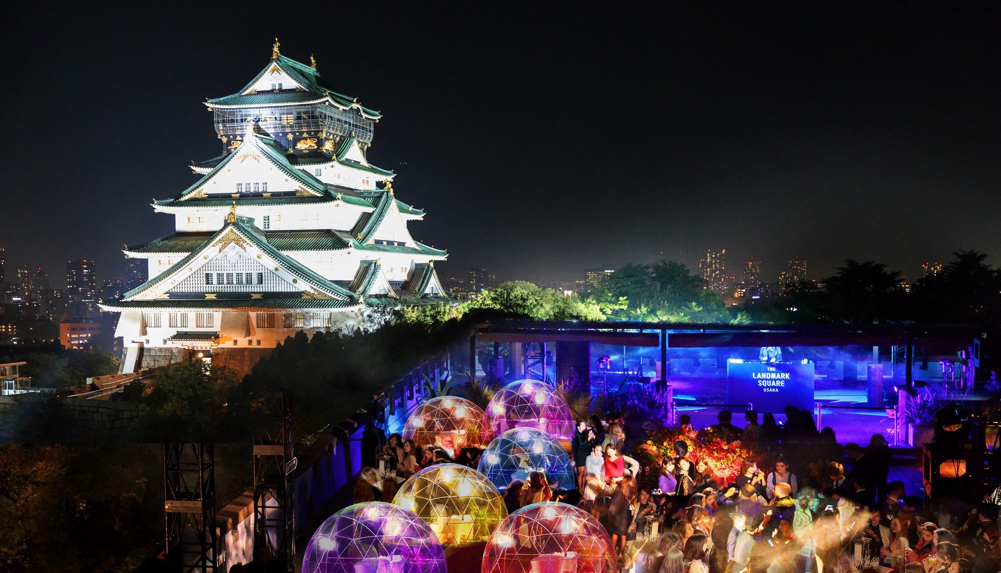 大阪城×ウィンターグランピングを楽しむSnow Dome NIGHT!!