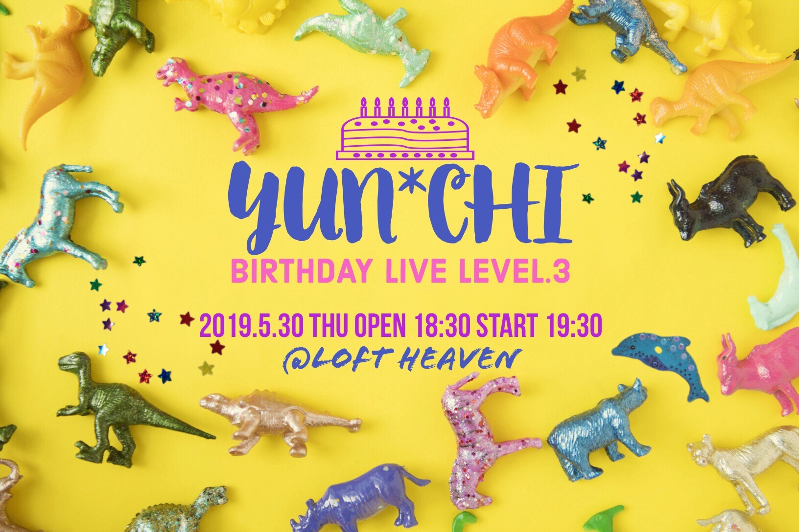 Yun*chi BIRTH DAY LIVE Level.3(コンプリートチケット)