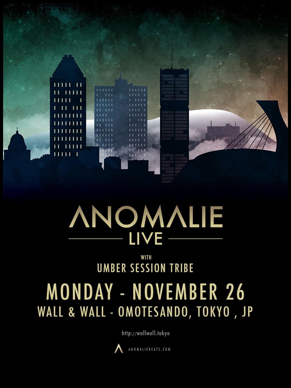 Anomalie Japan Tour 2018 東京公演
