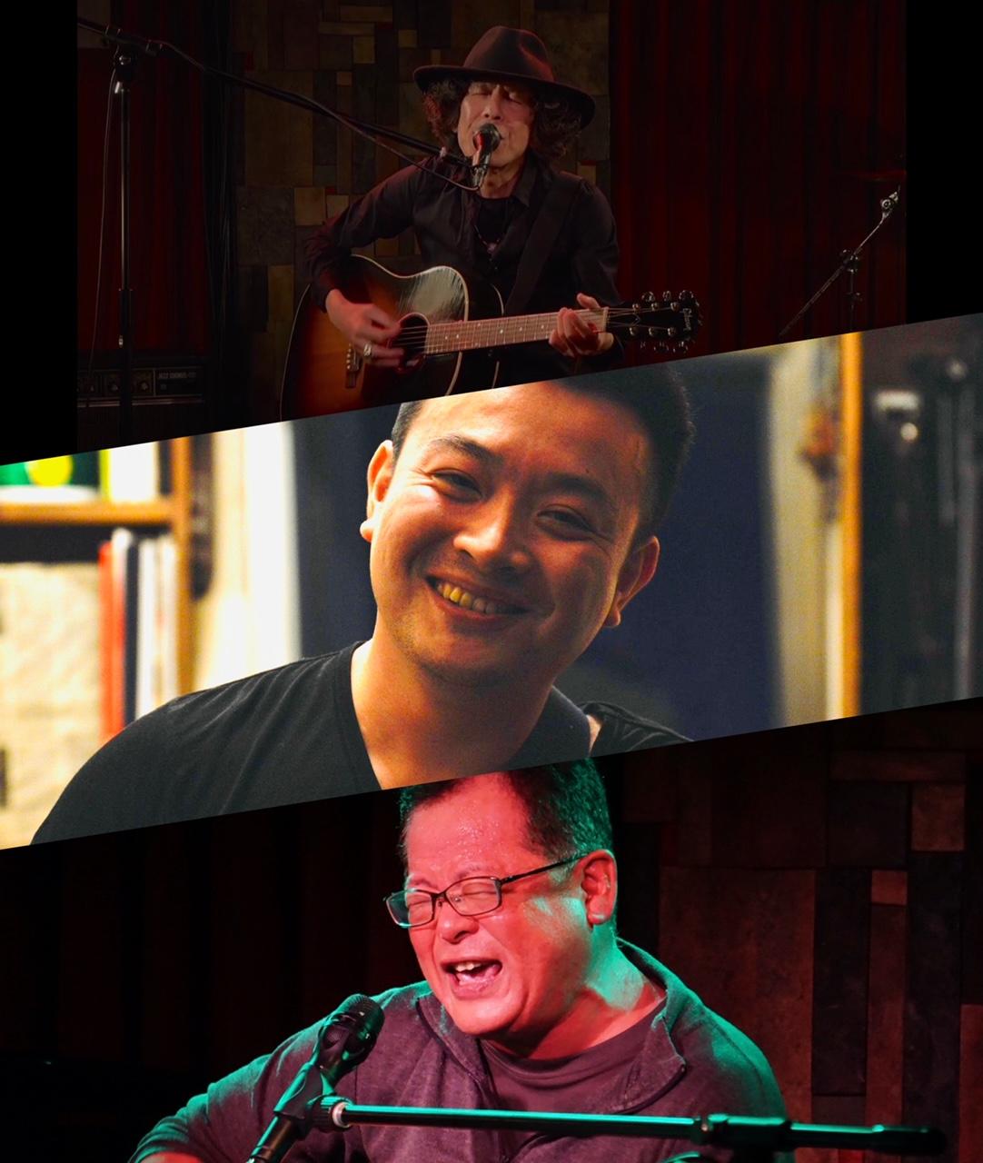 『僕たちの歌がこのメトロポリタンで風になる時』出演:YUZO / NAKAYOSHI / うたジロウ