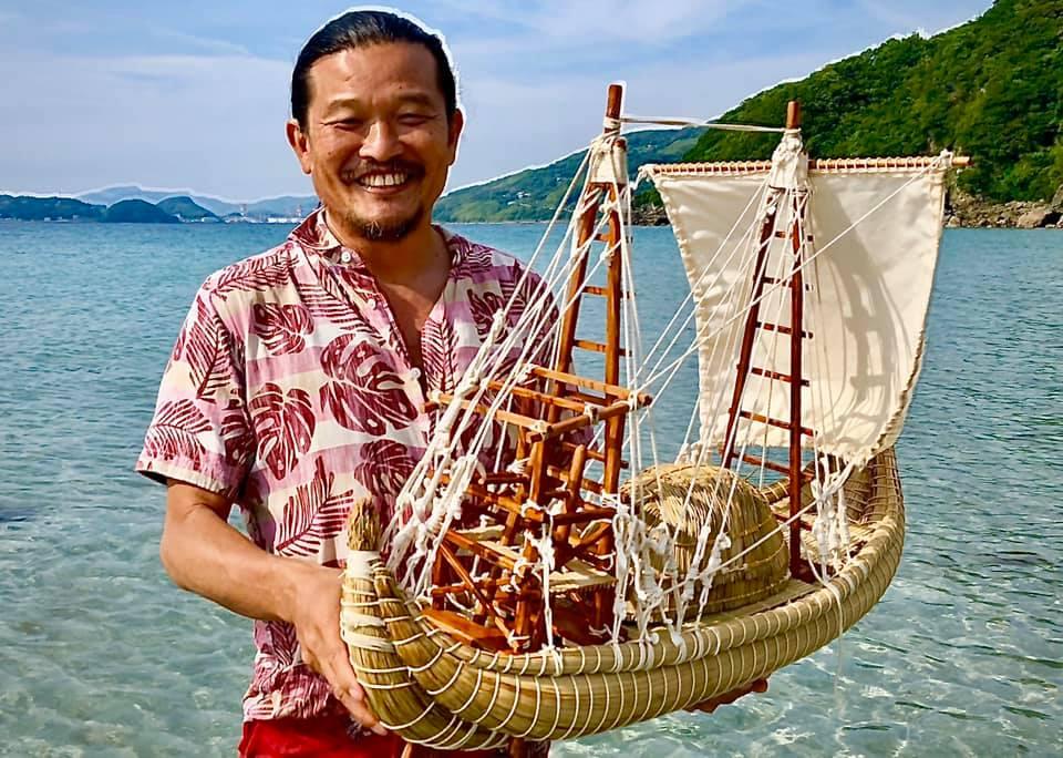 「オンライン・オフライン同時開催」葦の船で太平洋を渡る冒険家 石川仁さんに学ぶ。「自然と仲良くなるための持続可能な生き方とは」