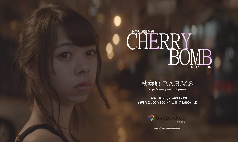からあげ生誕公演「CHERRY BOMB」【秋葉原P.A.R.M.S】