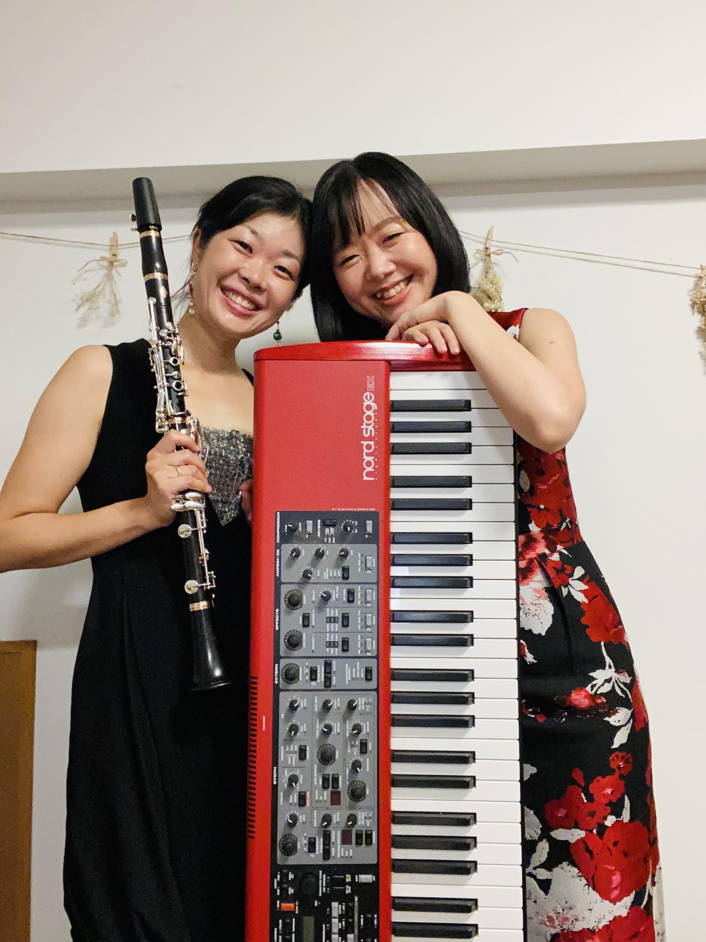 ■奏鳴兄弟  若山健太(oboe) 鼓緒太(pf) ■薗田可奈子(cla) 眞間麻美(pf)
