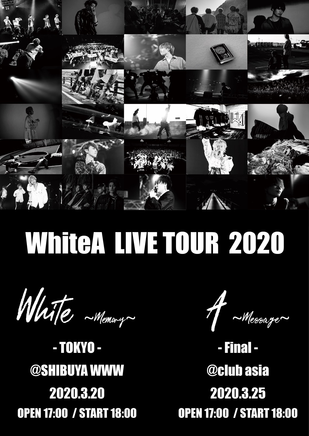 WhiteA ONE MAN LIVE ~White~
