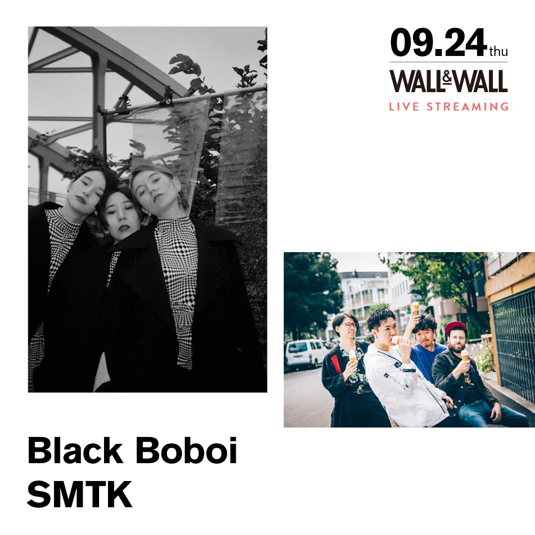 【実入場チケット】Black Boboi x SMTK