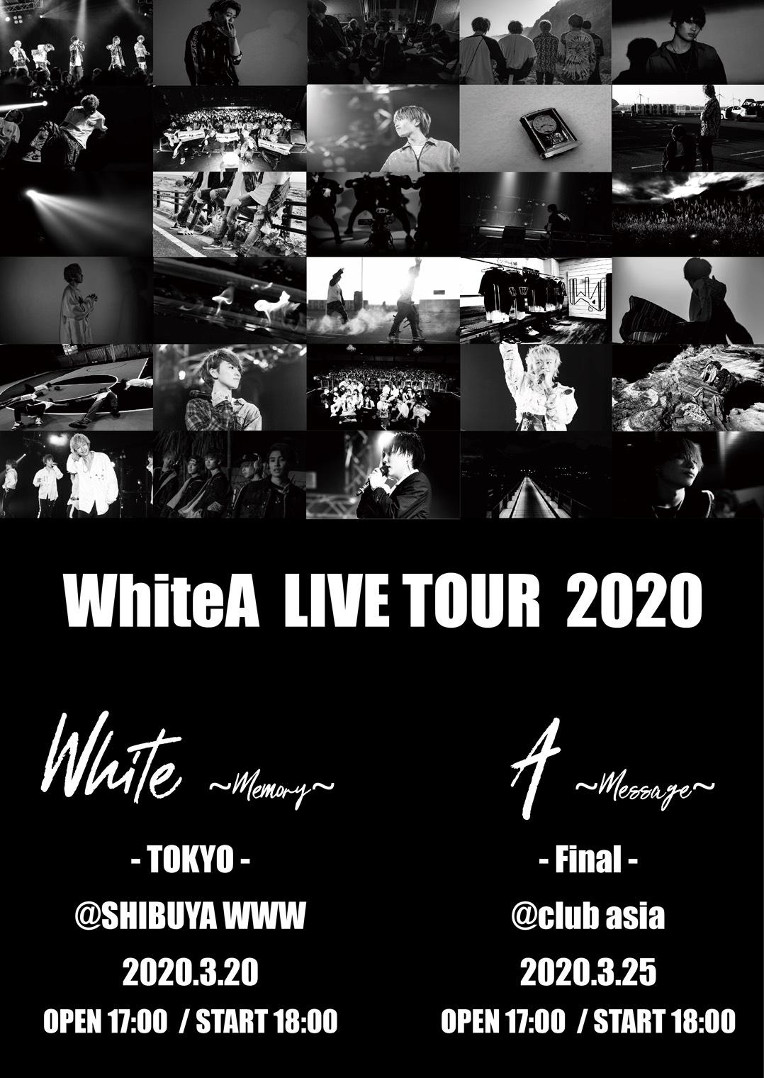 WhiteA ONE MAN LIVE ~White~