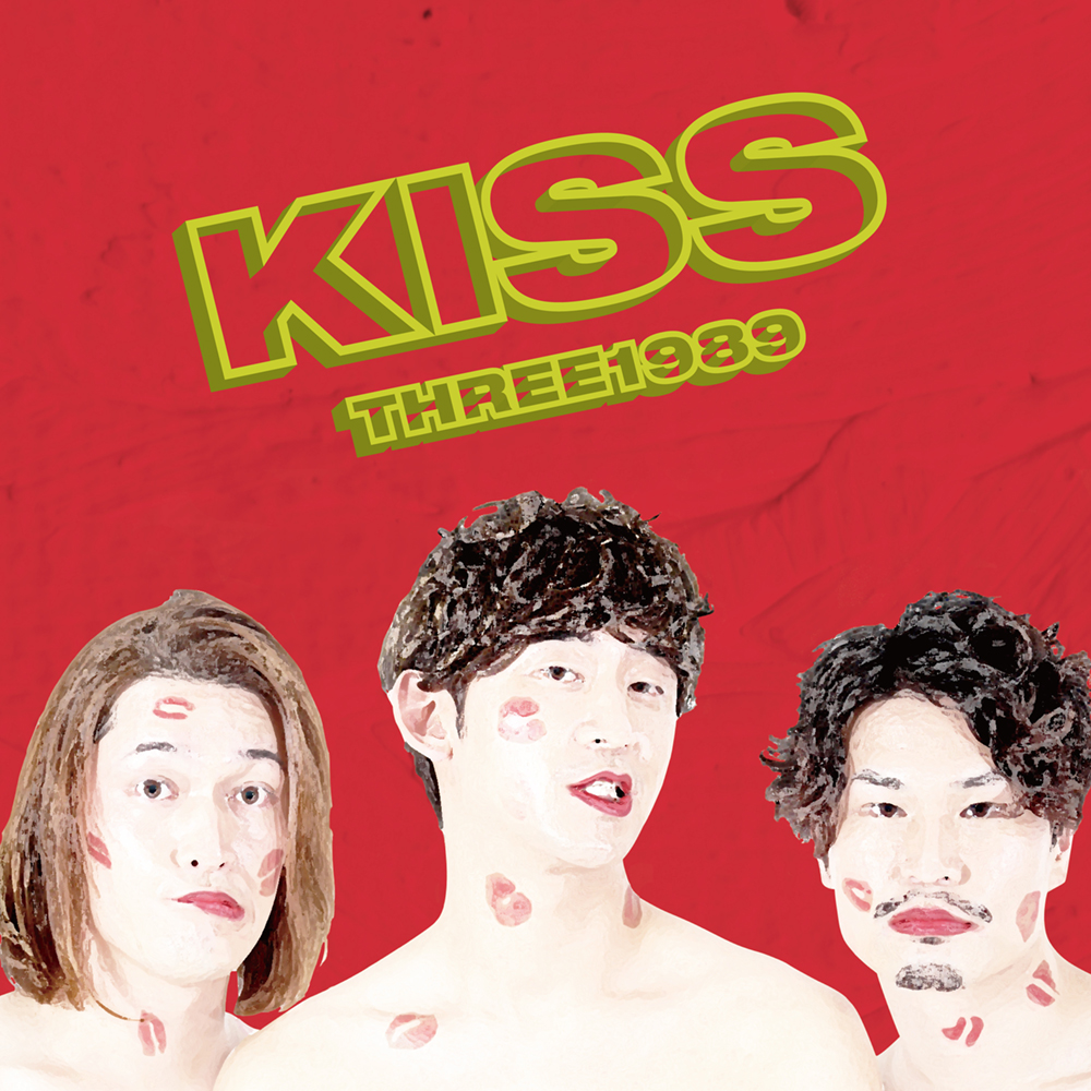 "THREE 1989 ""Kiss""リリースツアー in 10 COFFEE BRWERS"