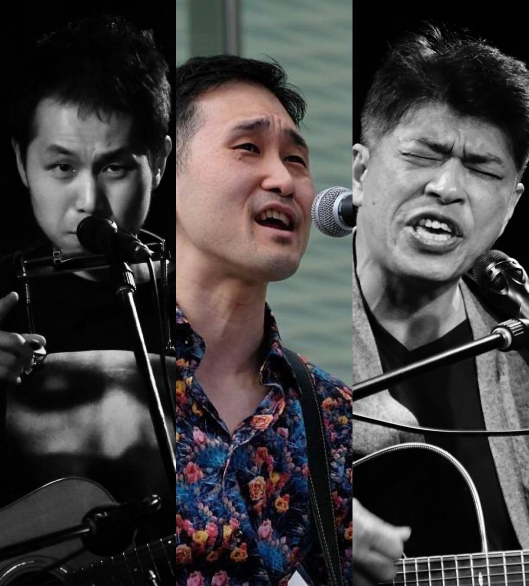 『僕たちの歌がこのメトロポリタンで風になる時』 出演:野口明伸 / 宇能伎寿哉 / 栁下学