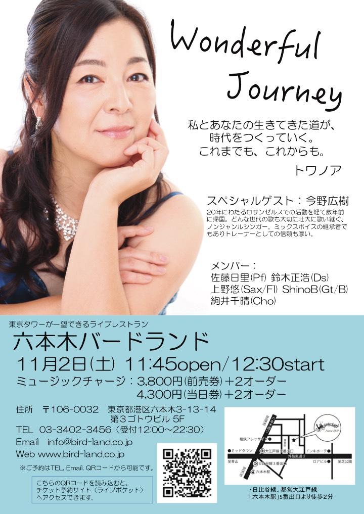 Wonderful Journey ~トワノアソロライブ~