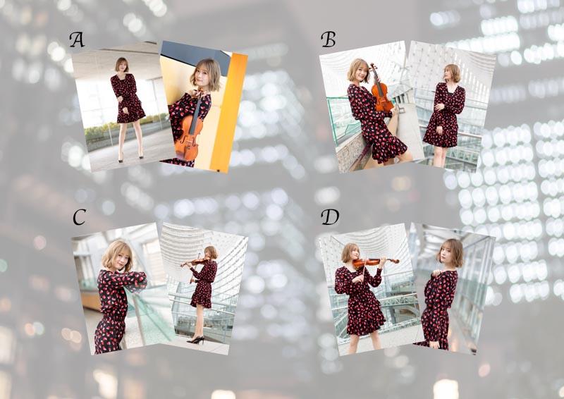 【踊るヴァイオリニストRiO 定期公演】RiO & vol.19ブロマイド