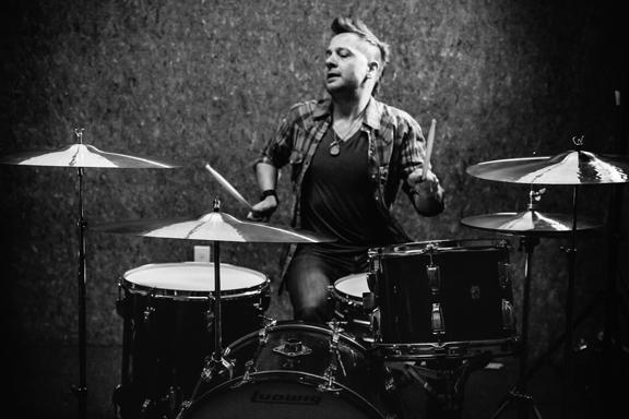 Ikebe,CANOPUS & Paiste Cymbals presents  スティーブン・ジュード・ミルズ ドラムクリニック