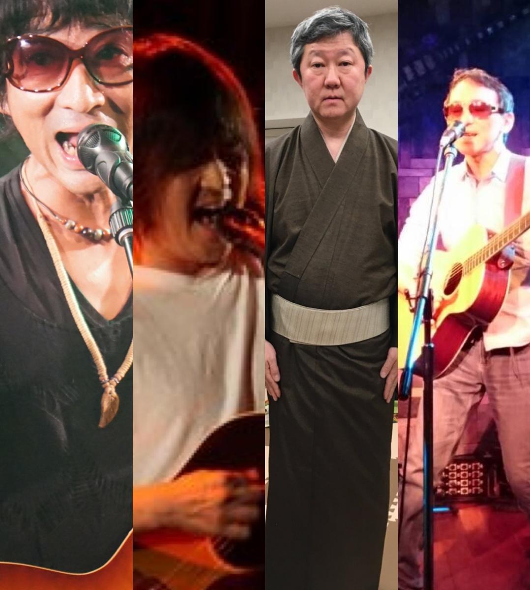 『僕たちの歌がこのメトロポリタンで風になる時』出演:KEN_BC / 木下拓也 / 水口きみや / 坂本守