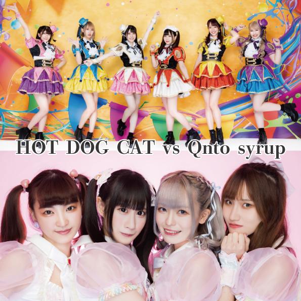 12月19日(土)  I-GET 2マンシリーズ HOT DOG CAT vs Qnto syrup