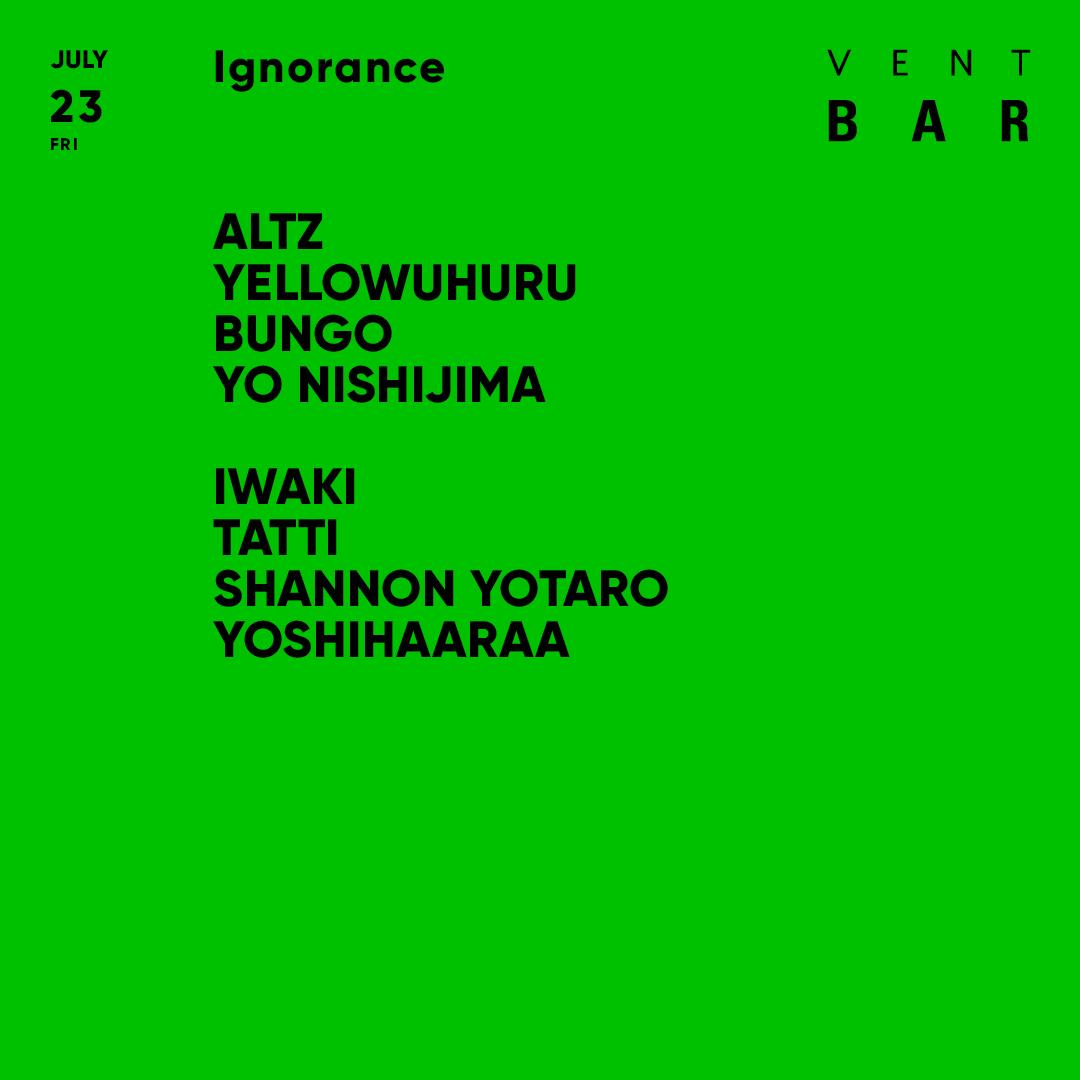 ALTZ / Ignorance