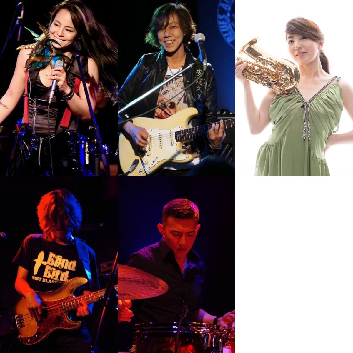 The Wonder Ladies!with 小林香織 (Sax)