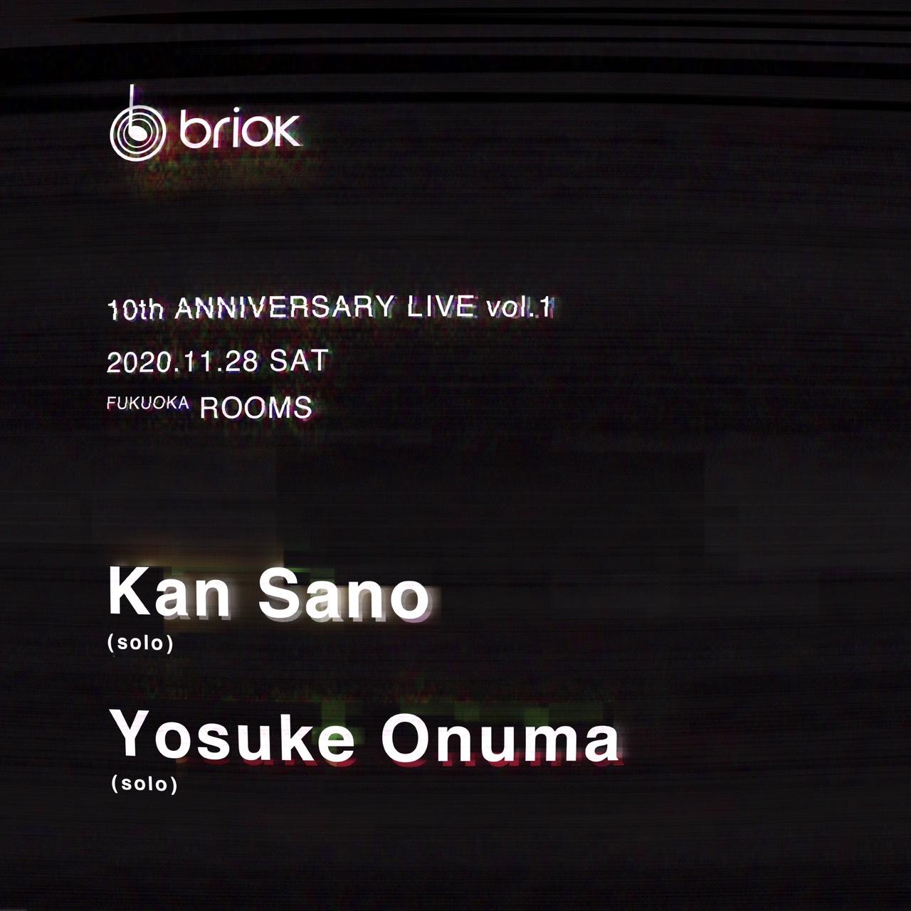 brick 10TH ANNIVERSARY LIVE vol.1 〈1st stage〉