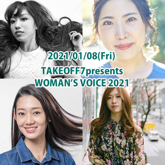TAKEOFF7presents  WOMAN'S  VOICE 2021