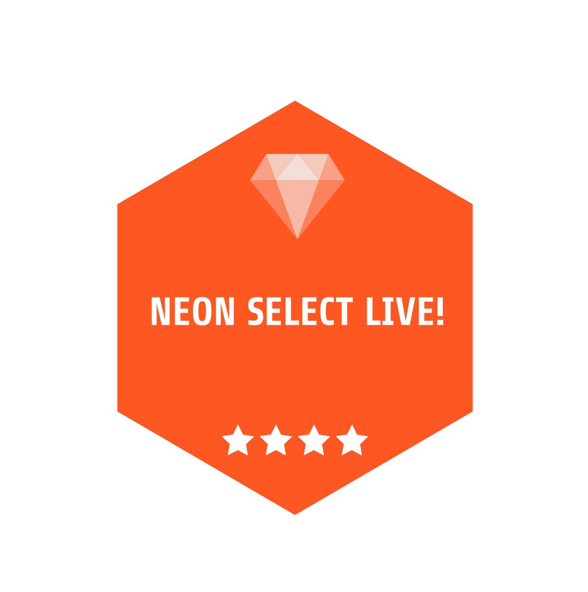 2018年10月14日(日)  『NEON SELECT LIVE!』