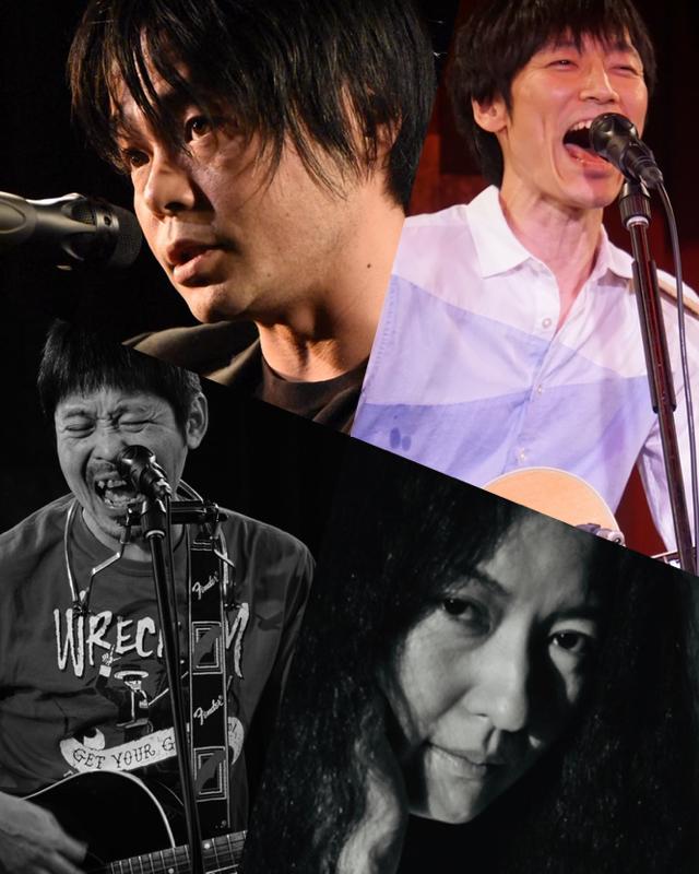 『月蝕』出演:アベヒロシ / 哲史 / ヤスシ45 / 真理