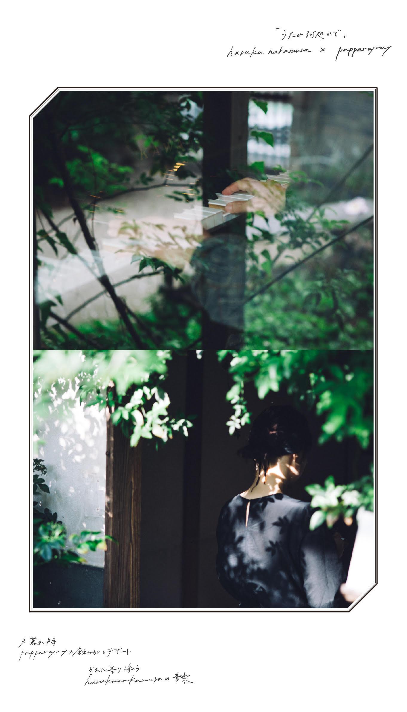 「うたが何処かで」haruka nakamura × papparayray 第四夜