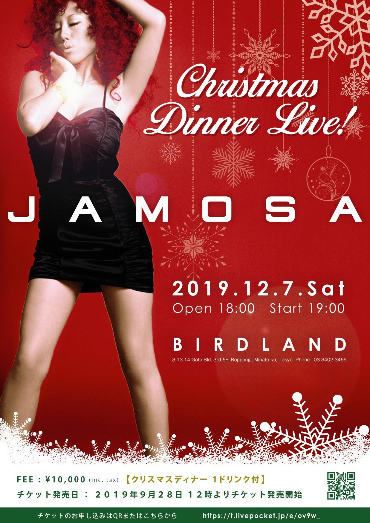 JAMOSA CHRISTMAS DINNER LIVE!