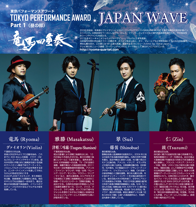 JAPAN WAVE feat.TOKYO PERFORMANCE AWARD【Part1】