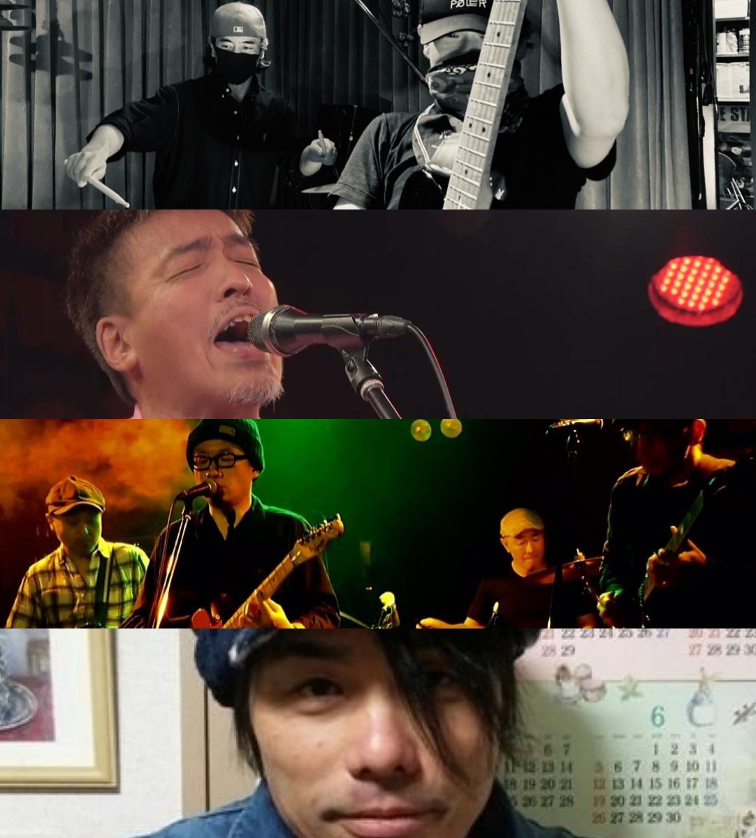 [無観客配信]『鋸の夜』出演:浅井永久+堀口たかし / 夜明けの青年団 / たけぽん / ピース