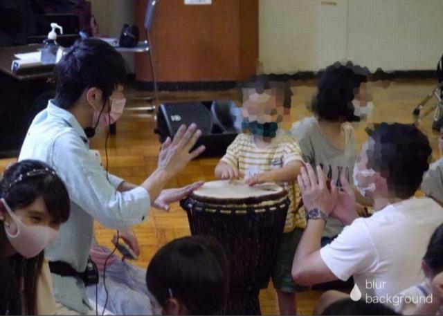 0歳から小学生までの【リトミックDE打楽器ワークショップ】