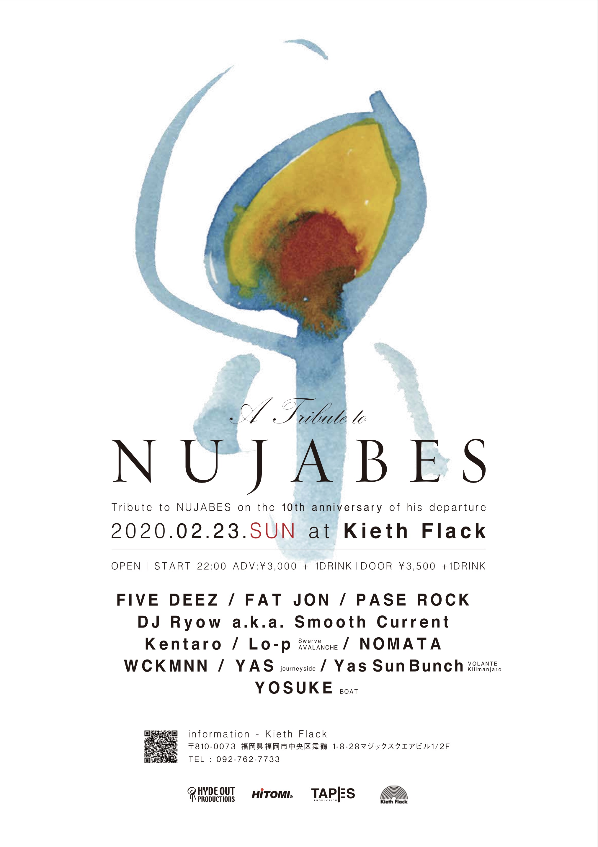 A TRIBUTE TO NUJABES Tribute to Nujabes on the 10th anniversary of his departure