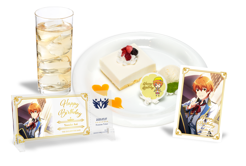 【7/27蒼井 悠介 バースデープラン AKIHABAR本店】アイドルマスター SideM 5th Anniversary CAFE