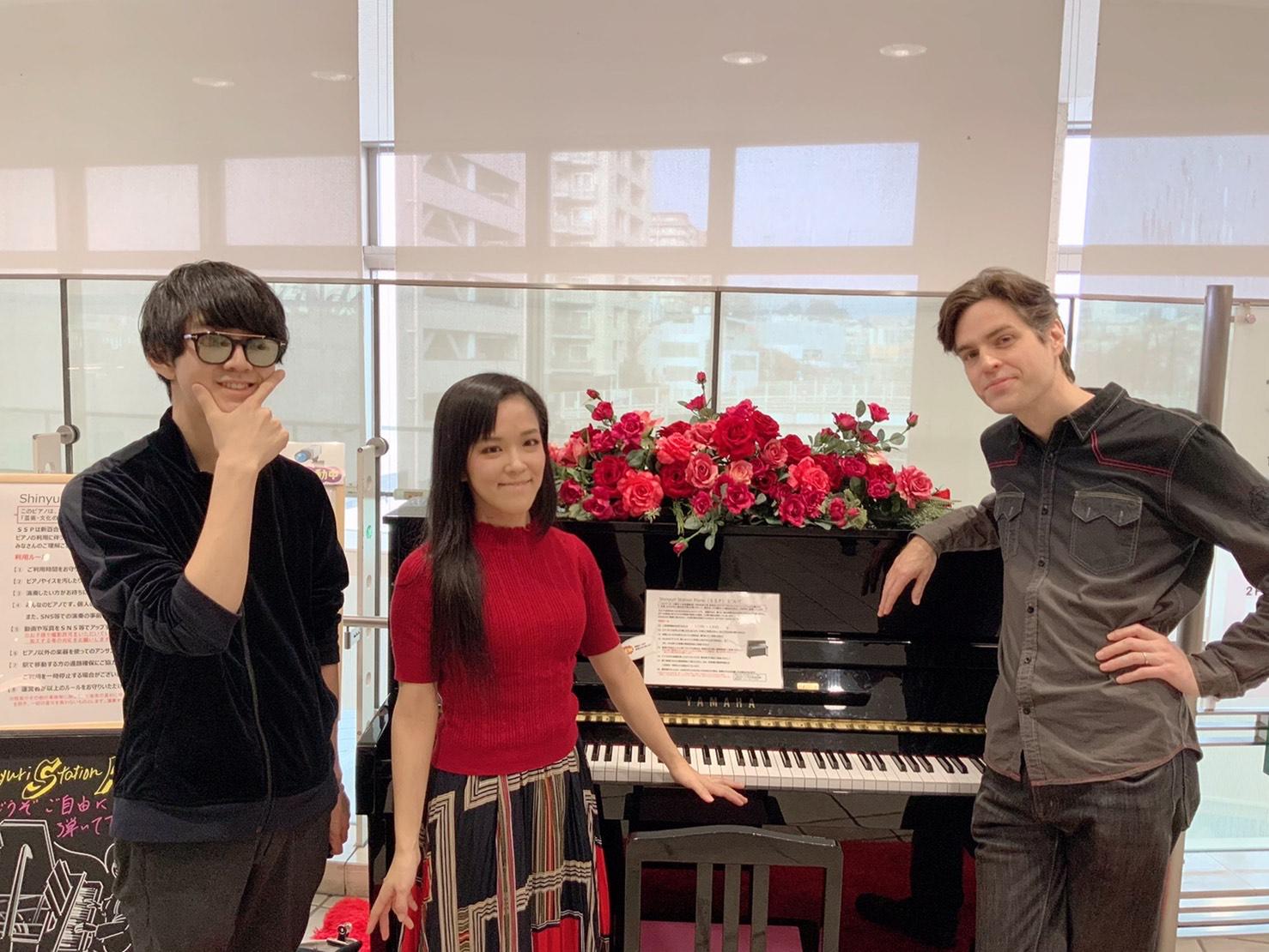 """ピアノYou Tuber""""バレンタイン""""コンサート~ジェイコブ/あさぴ/よみぃ"""