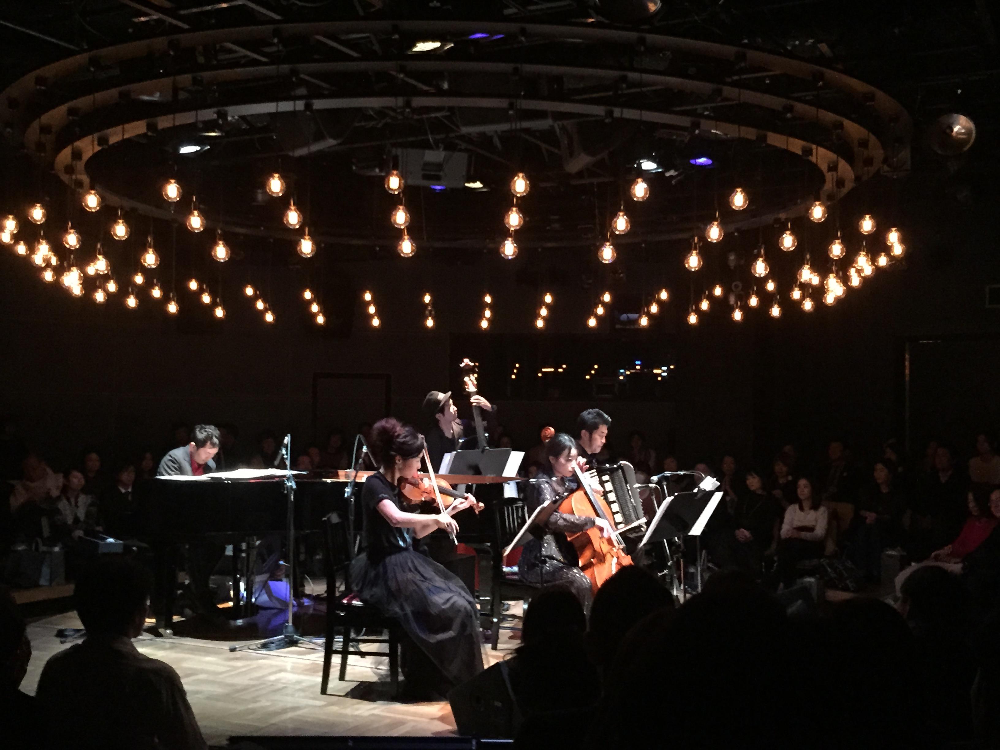 4/16(土)Jazztronik Unplugged Tour @ 五條會舘 旧歌舞練場(京都)