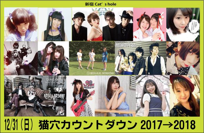 猫穴カウントダウン2017→2018