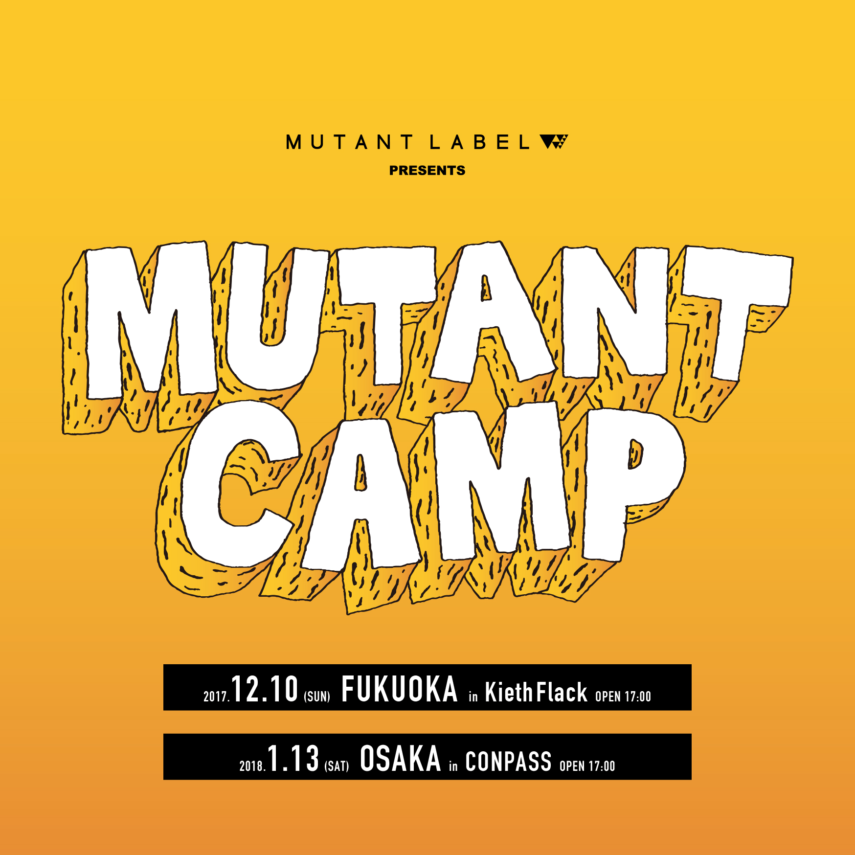 MUTANT CAMP in FUKUOKA